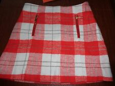 NWT Gymboree plaid Right Meow skirt 5 bts flannel holiday CLEARANCE ON NOW