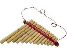 More details for panpipes - straight 13 pipes, rondador - ethically traded from ecuador