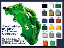 SKODA VRS Premium Brake Caliper Decals Stickers x 6