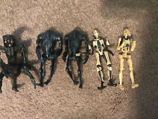 STAR WARS Super Battle Droids Droideka General Grievous Battle Droid Lot Of 5