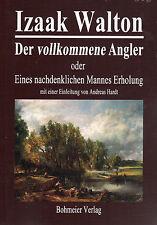 DER VOLLKOMMENE ANGLER - Izaak Walton BUCH - NEU
