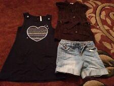 Lot Vêtements Fille Taille 4/5 Ans  Robe Gilet Short