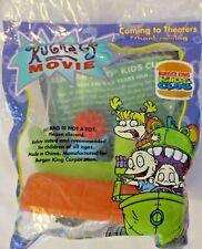 Burger King 1998 Rugrats Wind Up Aqua Reptar Toy