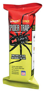 Rescue ST3-SF4 Indoor Insect Trap Spider 3 pack