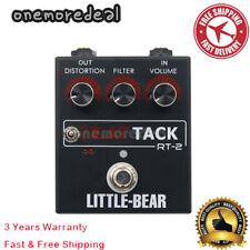 TOP For RT-2 Little Bear Guitar Distortion Fuzz Effector effect StompBox Pedal