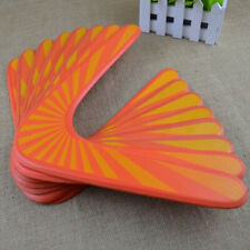 2Pcs Wooden Boomerang V-shaped Maneuver Dart Outdoor Sport Toy Wooden Flying Toy