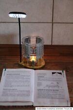 thermoelektrischer Generator Leselicht Teelicht erzeugt Strom Wärme zu Strom