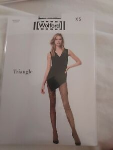 Wolford Triangle Tights, Black Extra Small, 14611