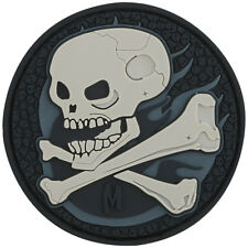 Maxpedition Horror Skull 3D Pvc Rubber Badge Paintball Moreel Patch Swat
