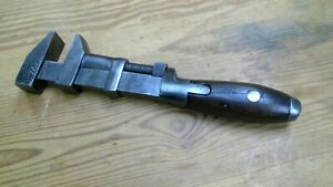 Large Vintage Monkey Wrench Screw Type L. Coes NICECondition