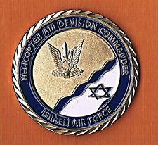 ISRAEL IAF  HELICOPTER DEVISION COMMANDER DETERMINATION KN0WS BOUNDARIES MEDAL