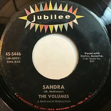 The Volumes: Sandra / Teenage Paradise 45 - Doo Wop