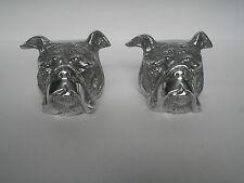 Metal Bull Dog Bookend Figurine statue gift ./..