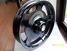 Harley wheel- street glide-road glide FRONT-GLOSS BLACK POWDER COAT-2009-2013