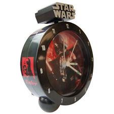 STAR WARS - Darth Vader 18cm Bedside Alarm Clock (Wesco) #NEW