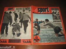 LO SPORT 1953/52=PLATTNER=INTER NOVARA 3-2=DERBY HOCKEY GHIACCIO DIAVOLI MILANO