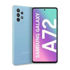 """Cellulare Smartphone Samsung Galaxy A72 SM-A725F 6,7"""" 6+128GB Dual Sim Blue"""