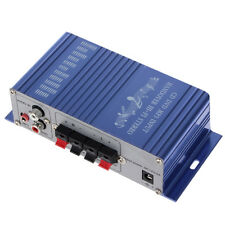 US 2-CH 12V Handover Mini Hi-Fi Car Stereo Amplifier Support CD DVD MP3 Input