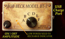 BOB BECK  BT-7 6 mode device. RECHARGEABLE POWER SUPPLY. 3 year limited warranty