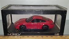 1/18 NOREV COLLECTION PORSCHE CARRERA 4S COUPE RED bd