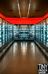 A-182 Barbie Photography Backdrop - Wide - Grocery Store