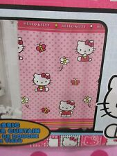"Hello Kitty Pink Fabric Shower Curtain 70"" x 72"""
