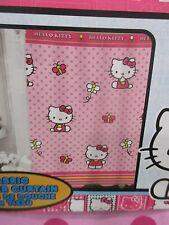 "NEW Hello Kitty Girls Pink Fabric Shower Curtain 70"" x 72"""