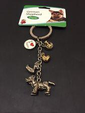 Brand New Dog Keyring German Shepherd Puppy  Gift Present Animal Lover