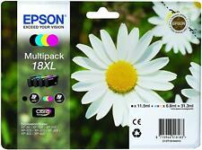 EPSON MULTIPACK 18 XL  NEUF paquerette multipack 18 4 cartouches séparés