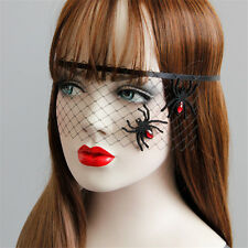 Sexy Princess Spider Veil Mask Halloween Masquerade Costume Party Headband Masks