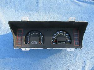 1981 82 Chevrolet Luv truck speedometer cluster