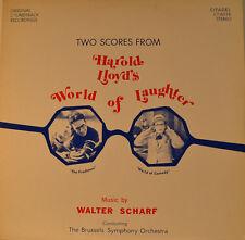 "OST - SOUNDTRACK - MUNDO. OF RISA - WALTER SCHARF 12"" LP (L837)"