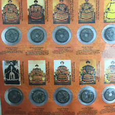 Ten Emperors Coins Old Dynasty Antique Currency Chinese Copper Coin Collect 10pc