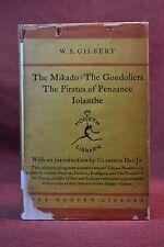 Modern Library 26 MIKADO GONDOLIERS PIRATES PENZANCE IOLANTHE Gilbert 1929-1930