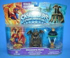 2011 Skylanders Spyro's Adventure DRAGON'S PEAK SUNBURN 4 Pack Video Game Figure