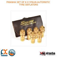 Piranha Set of 6 X Staun Automatic Tyre Deflators