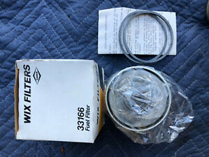 Lot of 4 Bobcat Wix 33166 Fuel filters, Napa 3166 New Old Stock