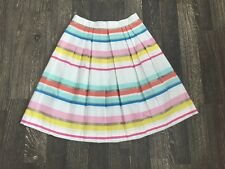 NWT Kate Spade Ribbon Cape Stripe Skirt Size 8