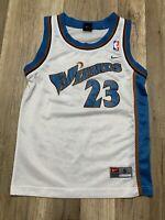 Auth Vtg 90's Nike NBA Washington Wizards Michael Jordan #23 Jersey Sz Youth S