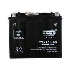 YTX20L Battery for Yamaha YFM 400 450 Kodiak Big Bear Wolverine 660 700 Grizzly
