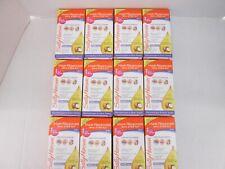12 SALLY HANSEN HAIR REMOVER WAX STRIP KIT FOR FACE & BIKINI 34 EACH: CB 1044