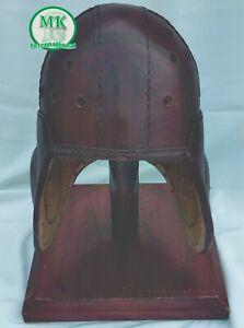 Vintage Style Leather football helmet Z