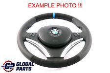 BMW E81 E87 E90 E91 E92 NEW Leather / Alcantara M-Sport Look Steering Wheel