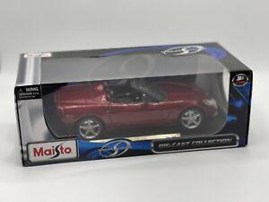 1/18 Maisto Special Edition 2005 Chevrolet Corvette Ruby Red