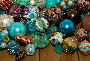 """""""Sands of Time"""" Bead Mix by Lilah Ann Beads - Boho, Wire Wrapped, Beaded - BM400"""