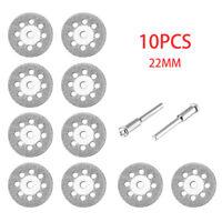 10 Diamond Cutting Wheels For Dremel Rotary Tool die grinder metal Cut Off Disc
