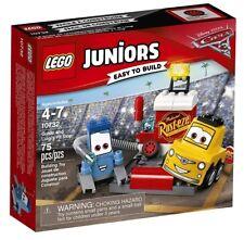LEGO Juniors Disney Pixar Cars Guido and Luigi's Pit Stop #10732 New Sealed Box
