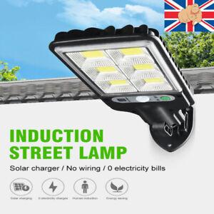LED Solar PIR Street Light Motion Sensor Wall Outdoor Christmas Waterproof COB