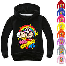 Boys Girls Kids me contro te Spring Fall Casual Hoodies Pullover Sweatshirt
