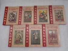 Lot 7 EMILIO SALGARI Grandi Romanzi di Avventura 1911-2011 Vols 1 2 3 4 9 10 13